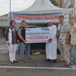 Gambar : Koordinator ACT Bungo Peduli Palestina H.Hasan Ibrahim.,S.pd.i Bersama Pengurus ACT Bungo Dan Ketua TP Sriwijaya